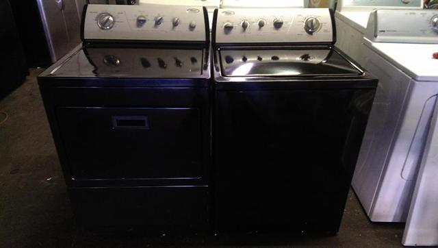 Wow Look Black Whirlpool Gold Super Capacity Washer