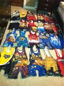 Wrestling singlets and wrestling shoes (Quad Cities) for ...