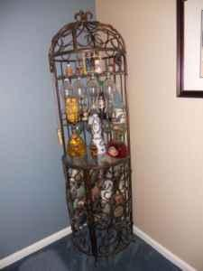 Wrought Iron Bird Cage Wine Rack West Jefferson Nc For