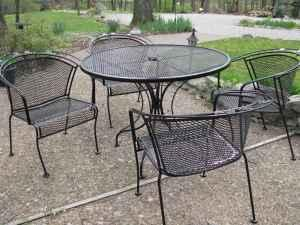 wrought iron patio sets mccutchanville for sale in