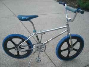 WTB Old School BMX and Freestyle bikes and parts ...