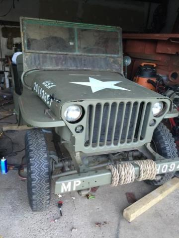 ww2 jeep gpw ford willys for sale in rochester new york classified. Black Bedroom Furniture Sets. Home Design Ideas