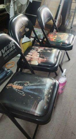 Wwf ringside chairs $60each