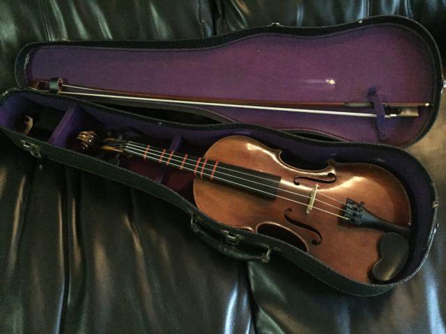 WWII Era Stradivarius Violin Size 44