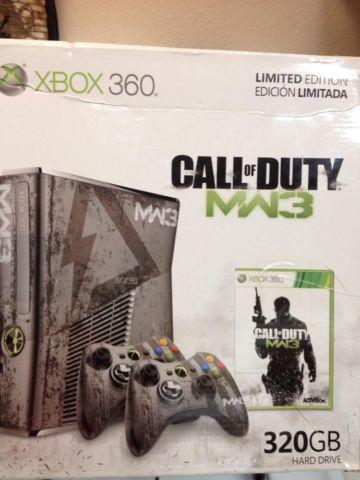 XBOX 360 CALL OF DUTY LIMITED EDITION 320 GB