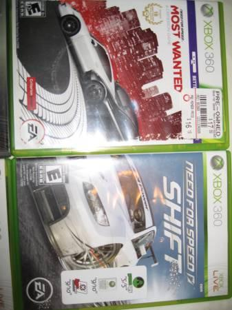 XBOX 360 Games - Need For Speed/Halo/Rock Band etc