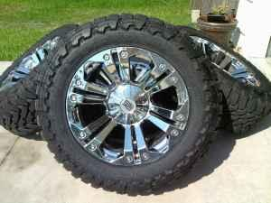 Xd Monster Rims 22 Quot With Toyo Tires 37 S Ocala For