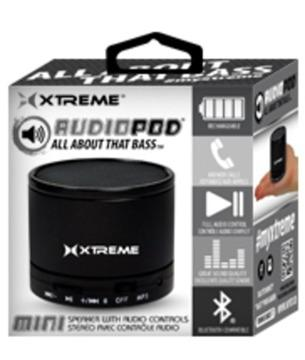 Xtreme AudioPod BLUTOOTH Wireless Portable Speaker