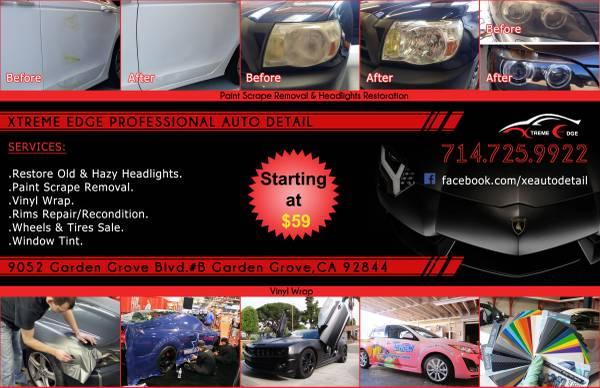 XTREME EDGE AUTO DETAIL, BEST IN ORANGE COUNTY