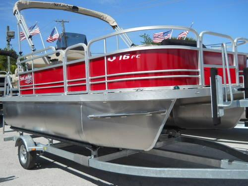 YAMAHA 16' G-3 SUNCATCHER PONTOON WITH 40 H/P YAMAHA