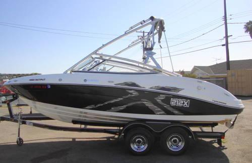 Yamaha 212x 2008 twin jets drive wakeboard boat for sale for Yamaha wakeboard boats