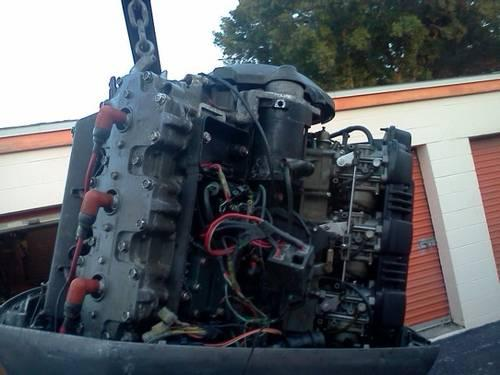 Yamaha 225 250 rebuilt powerhead trim lower unit carbs for Yamaha outboard lower unit rebuild
