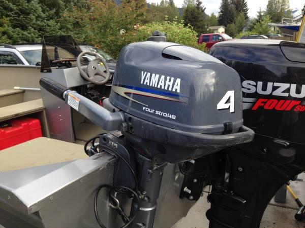 Yamaha 4 hp outboard motor - long shaft - $775