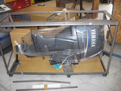 Yamaha 90hp four 4 stroke outboard motor engine 2013 for Used 90 hp outboard motors