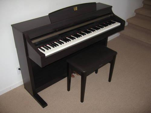 Yamaha clavinova clp 340 digital piano in superb condition for Used yamaha clavinova cvp for sale