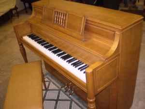 Yamaha console piano, includes tuning & delivery -