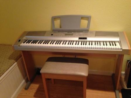 Yamaha DGX-500 Portable Grand Piano 88 keys w bench  foot pedal