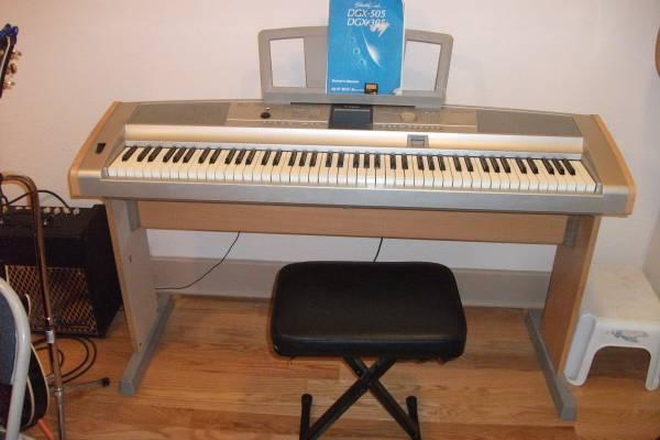 Yamaha portable grand dgx-505
