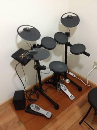 Yamaha dtx450k electronic drum set for sale in potsdam for Yamaha electronic drum kit for sale