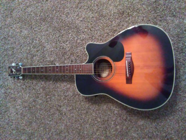 yamaha fg 441ce tbs electric acoustic guitar for sale in new egypt new jersey classified. Black Bedroom Furniture Sets. Home Design Ideas