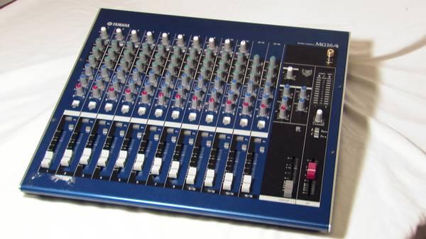 yamaha mixing console model mg 16 4 for sale in cottonwood shores texas classified. Black Bedroom Furniture Sets. Home Design Ideas