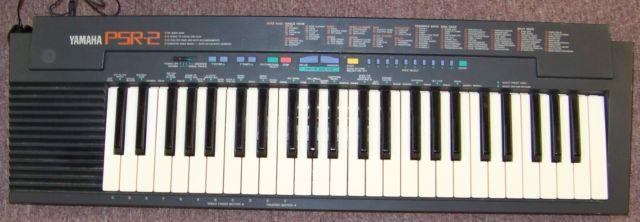 YAMAHA PSR2 49-Key Portable Electronic Keyboard