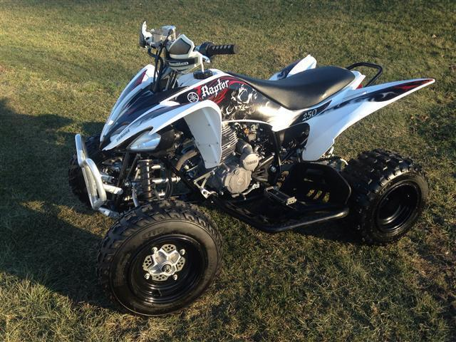 Yamaha raptor 39 s for sale 50 used atv 39 s in stock for for Yamaha atv for sale used