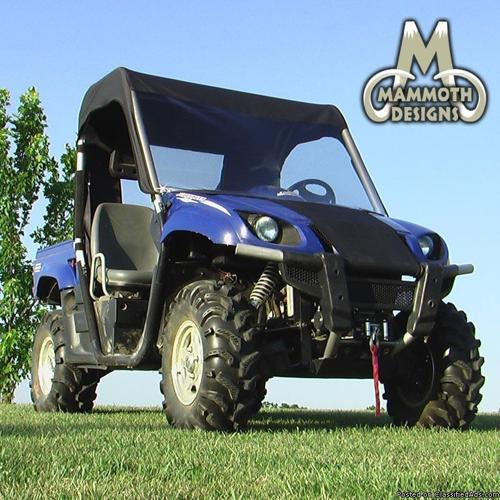 Yamaha Rhino Mini Cab Enclosure / Windshield Top Rear