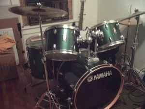 Yamaha Rydeen 8 pc Drum set - $400 (Mattoon)