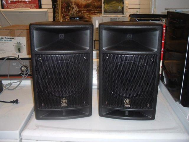 yamaha stagepas 300 pa speakers for sale in melbourne. Black Bedroom Furniture Sets. Home Design Ideas
