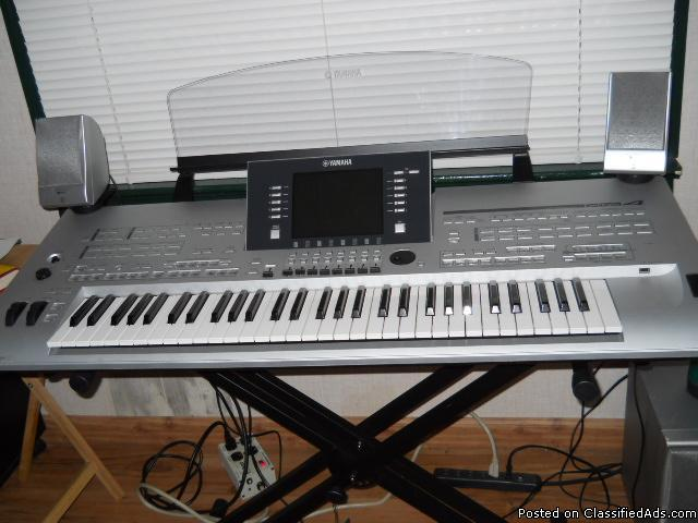 Yamaha tyros 4 keyboard for sale in charleston oregon for Yamaha eugene or