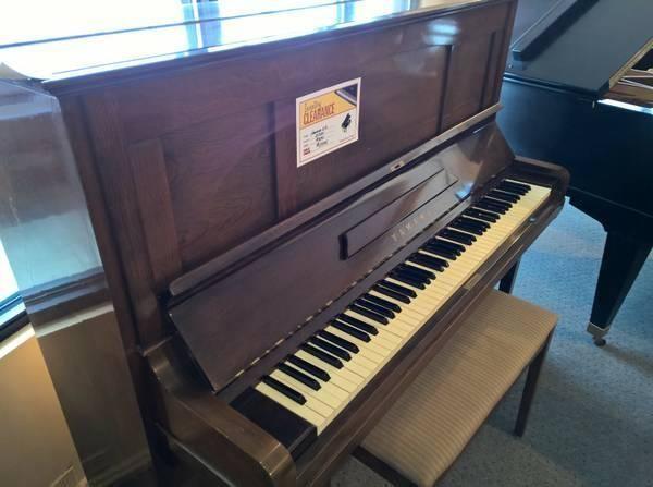 Yamaha u3 52 upright piano for sale in seattle for U3 yamaha price