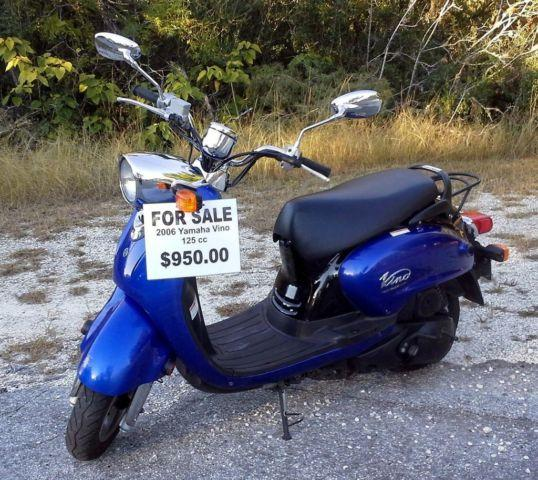 Yamaha Vino Scooter 125 Cc For Sale In Brooksville