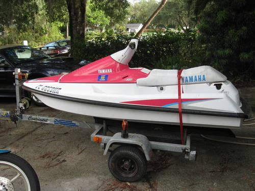 yamaha wave runner jet ski trailer tons of new parts
