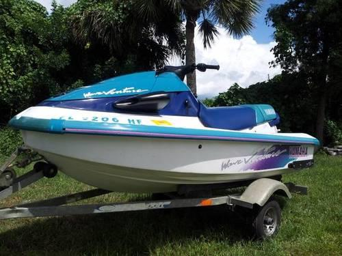 Yamaha waverunner jet ski wave runner jetski waveventure 3 for Yamaha jet boat for sale florida