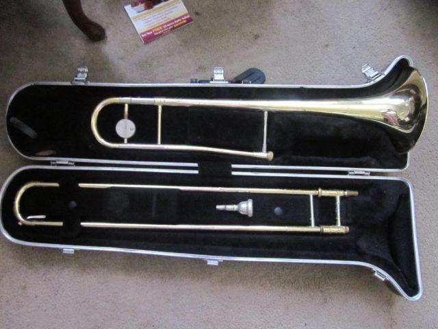 Yamaha YSL-354 trombone (fair condition)