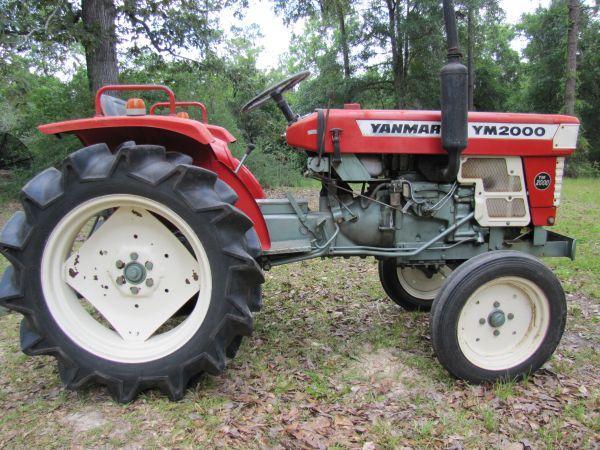 Antique Yanmar Tractors : Yanmar hp tractor beulah for sale in pensacola