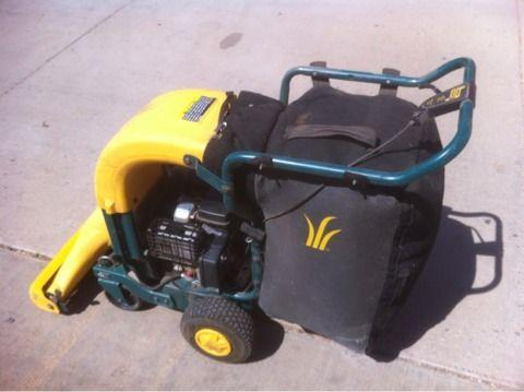 yardman 5.5 hp chipper shredder vacuum manual