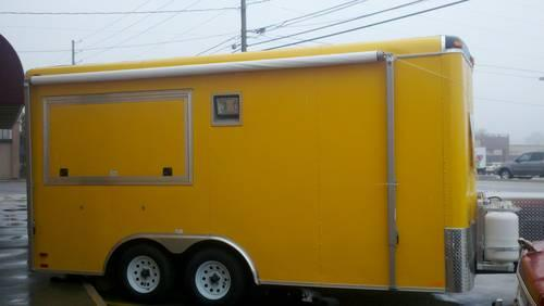 Yellow Concession Trailer!