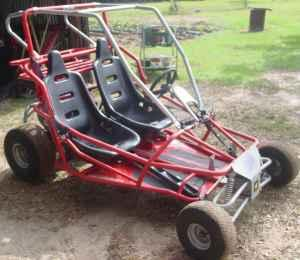 for sale is a 2004 yerf dog go kart go cart 150cc