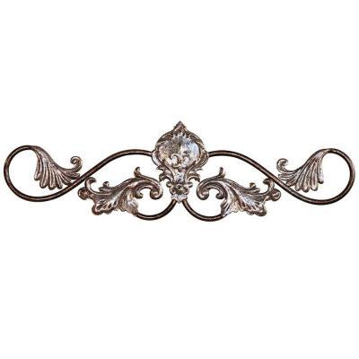 Yosemite Home Decor 24 in. x 8.5 in. Iron Decor Accent