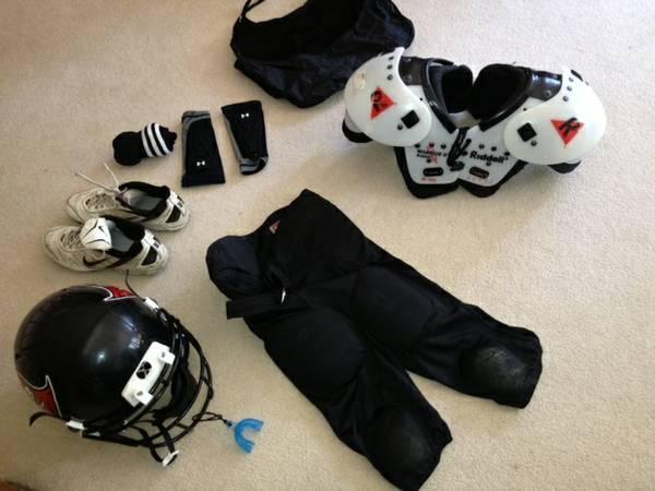 Youth Football Gear - $125