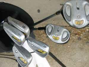 Youth WALTER HAGEN Left-Handed Golf Clubs w Bag  Extras - $49 Severna Park