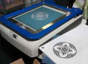 yudu silk screen machine