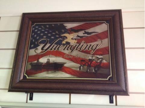 Yuengling Military Edition Support Our Troops Framed