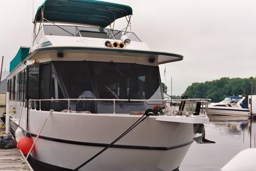 Yukon Delta Houseboat For Sale In Andyville Minnesota