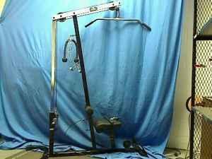 yukon fitness economy lat machine