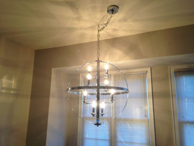 Z Gallerie Pinnacle Chandelier for sale!!!! (NEW IN UNOPENED BOX ... cbe5bbf594523