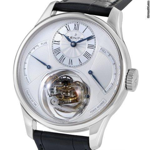Zenith Christophe Colomb Equation of Time Men's Watch