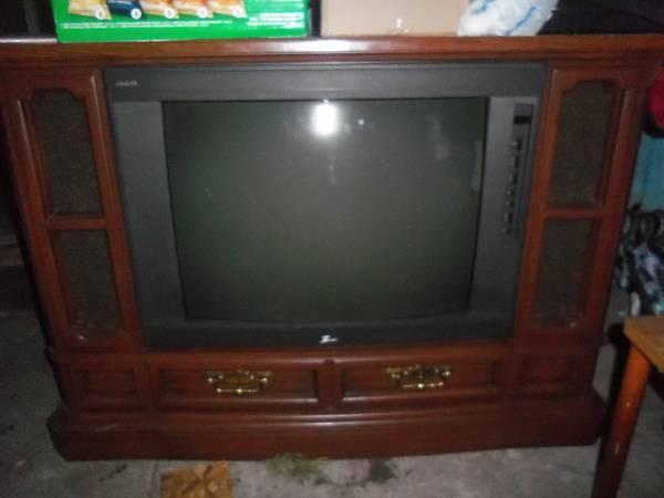Zenith floor model tv for sale in lima ohio classified for Floor model tv